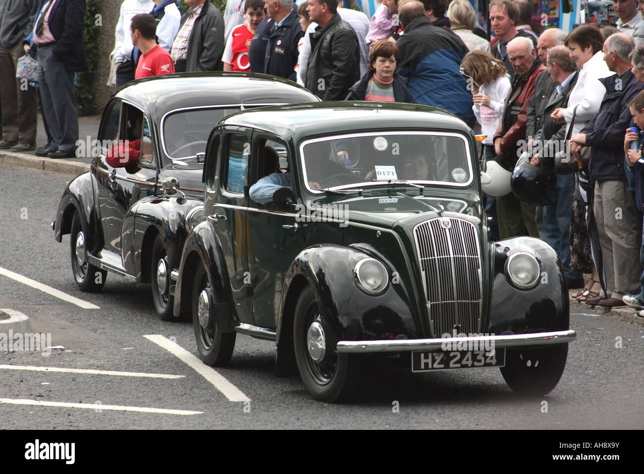 classic cars at the Waringstown Cavalcade, County Down, Northern ...