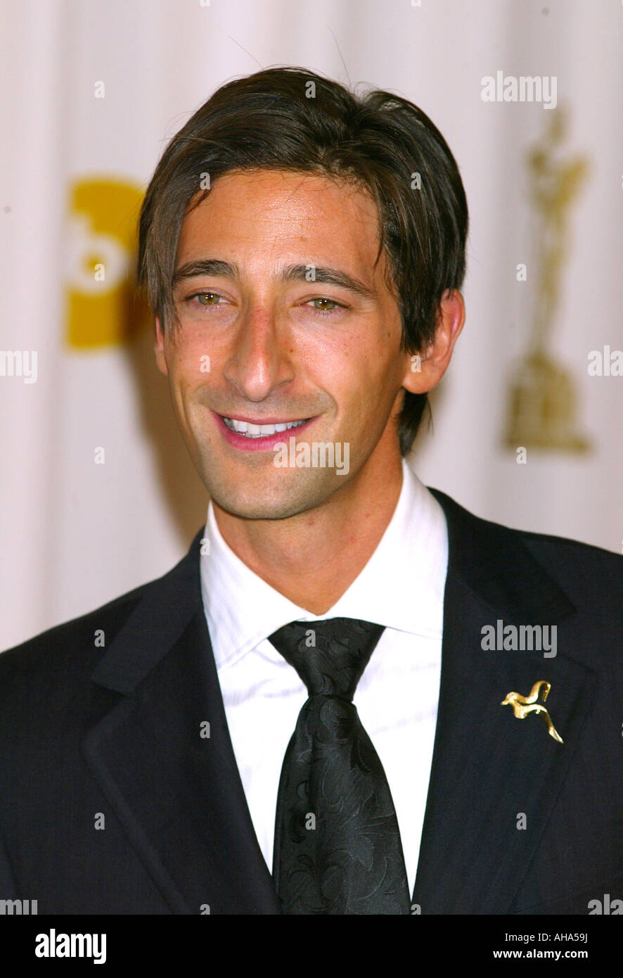 ADRIEN BRODY  US actor in 2003 - Stock Image