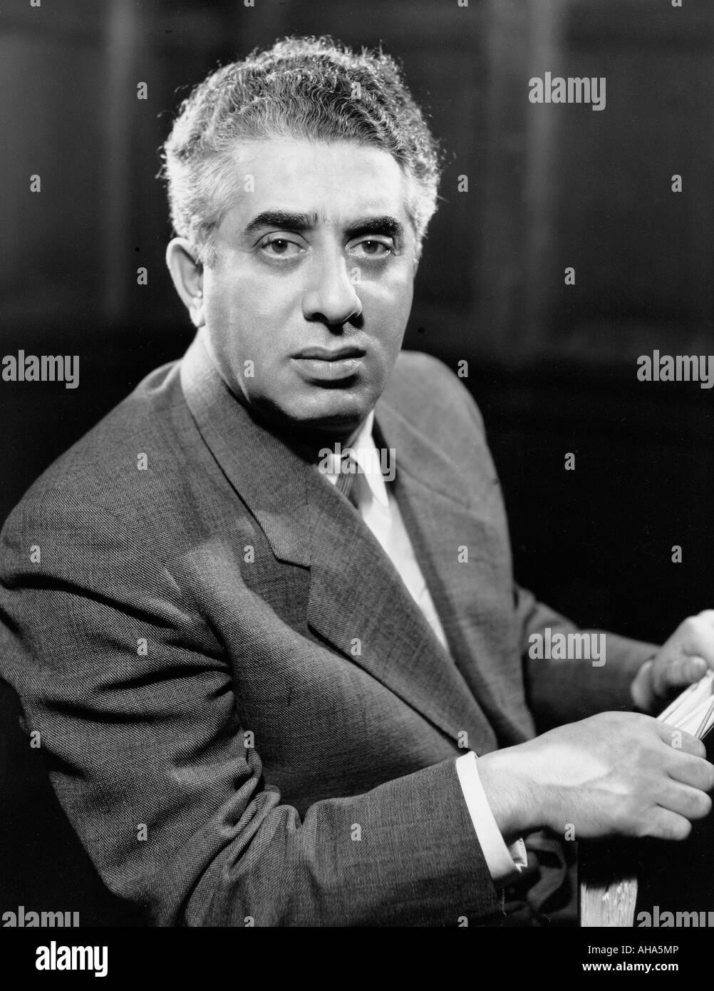 ARAN KHACHATURIAN  Armenian composer  in 1955 - Stock Image