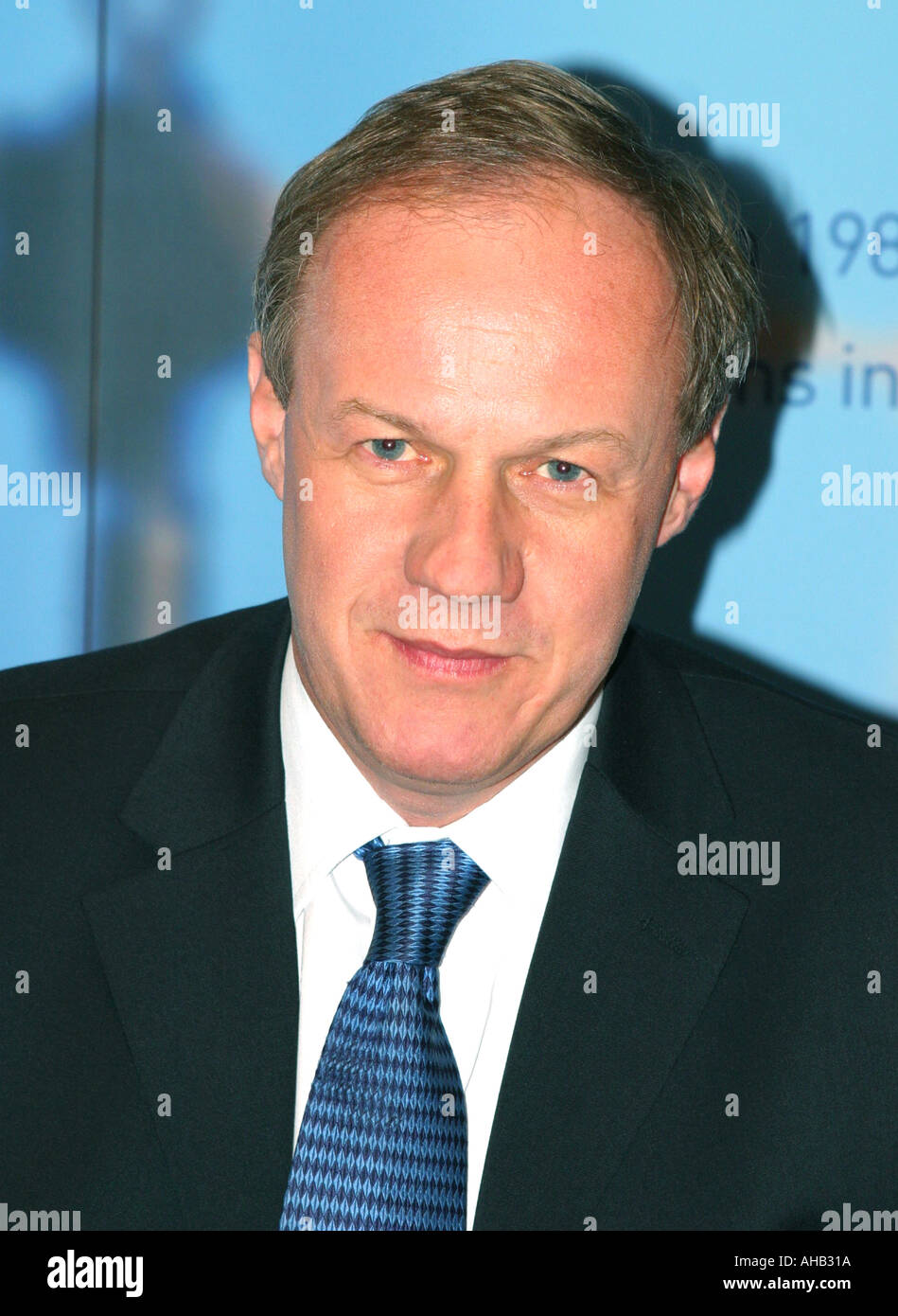 Damian Green Tory MP for Ashford Shadow Secretary for Transport Portrait Tory Conference Blackpool 2003 - Stock Image
