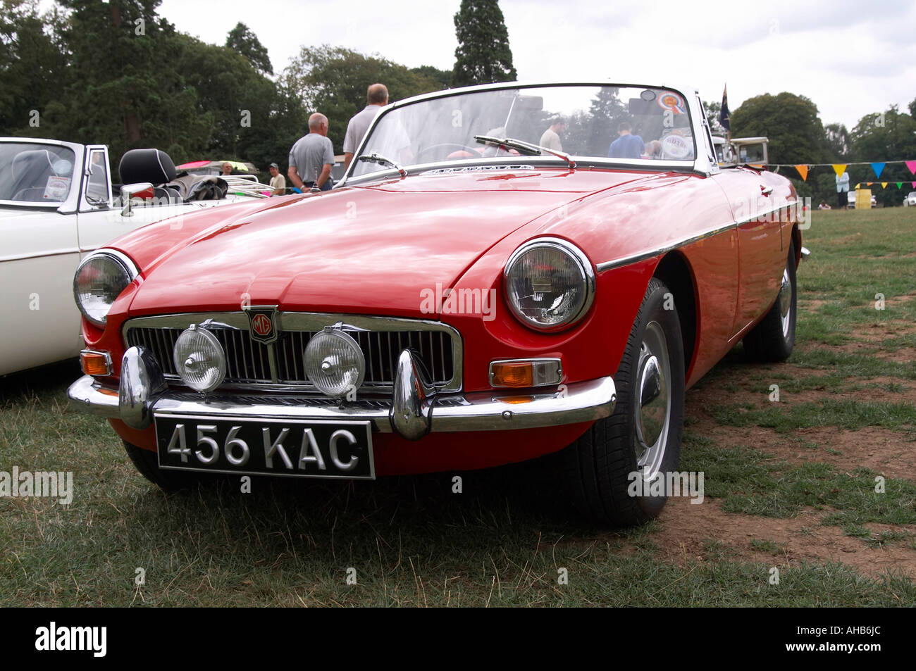 Wire Wheels Stock Photos Images Alamy British Leyland Radio Wiring Mgb Roadster English Sportscar Model