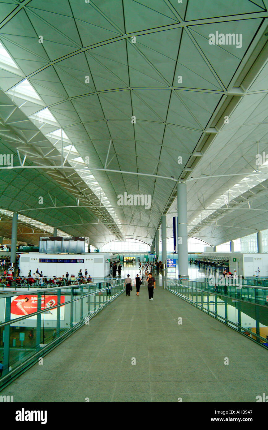 Hong Kong International Airport Chek Lap Kok hong kong Hong Kong International Airport Chek Lap Kok Hong Kong International Airp - Stock Image