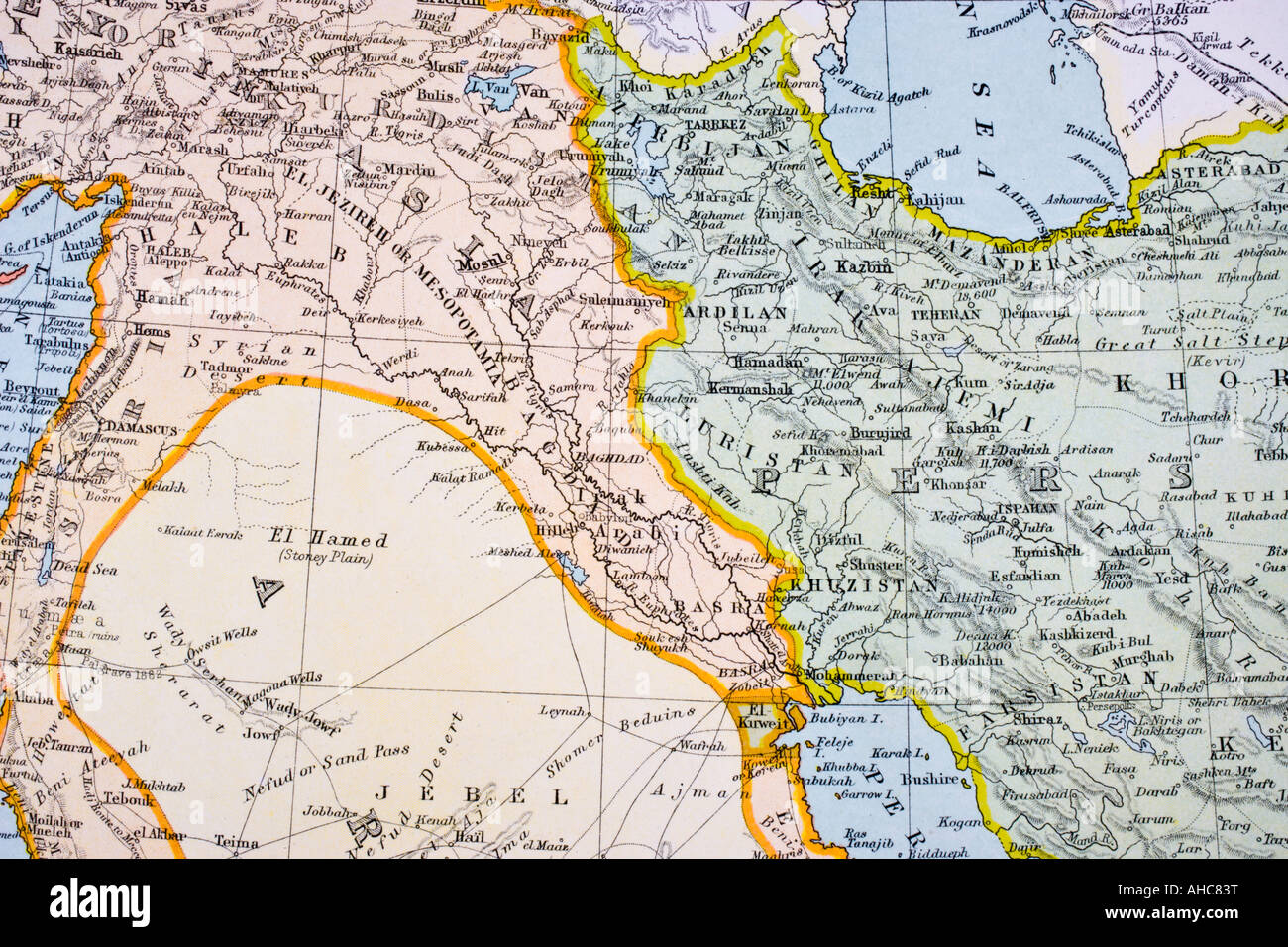 Turkey Map 19th Stock Photos Turkey Map 19th Stock Images Alamy