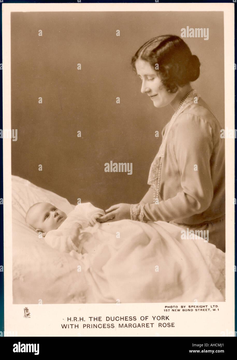 Elizabeth Princess Marg. - Stock Image