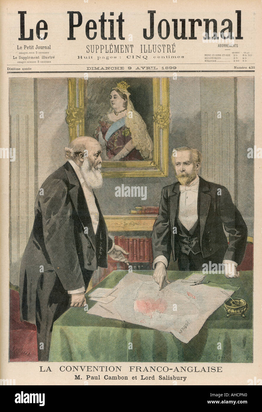 Anglo French Agreement Stock Photo 8247503 Alamy