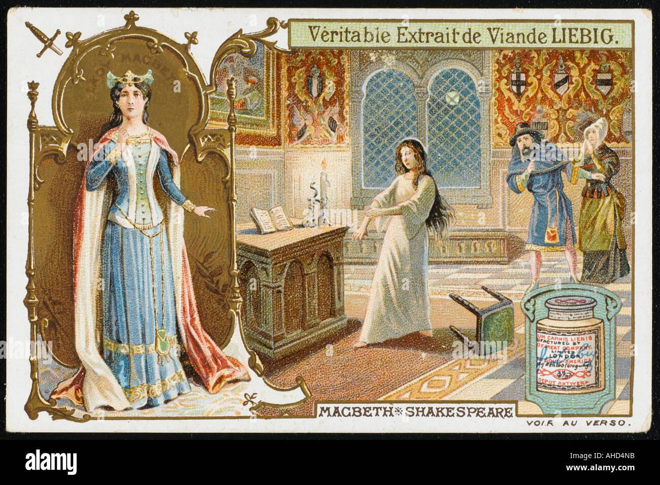 Lady Macbeth Liebig - Stock Image