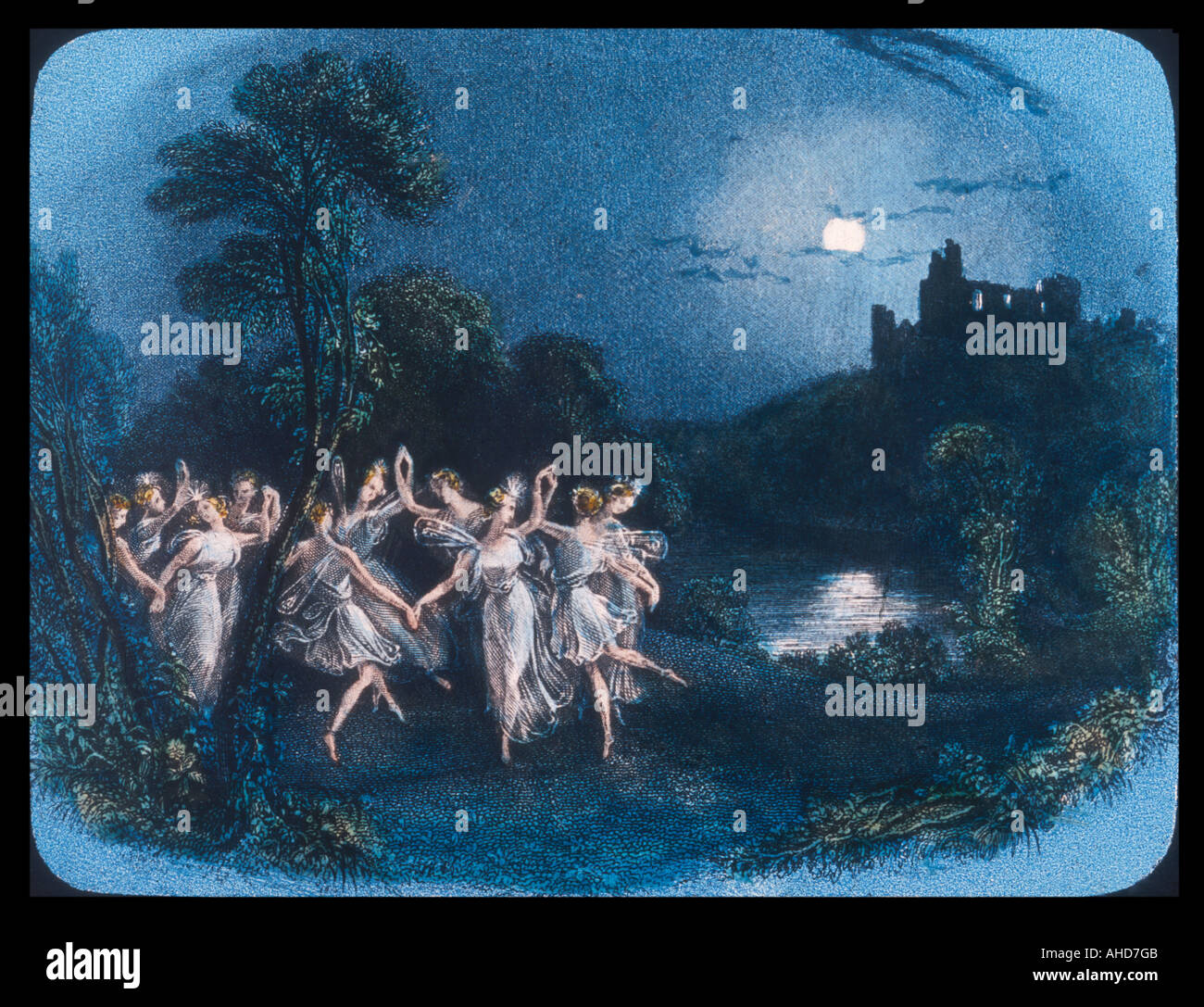 Gossip About Fairies 12 - Stock Image