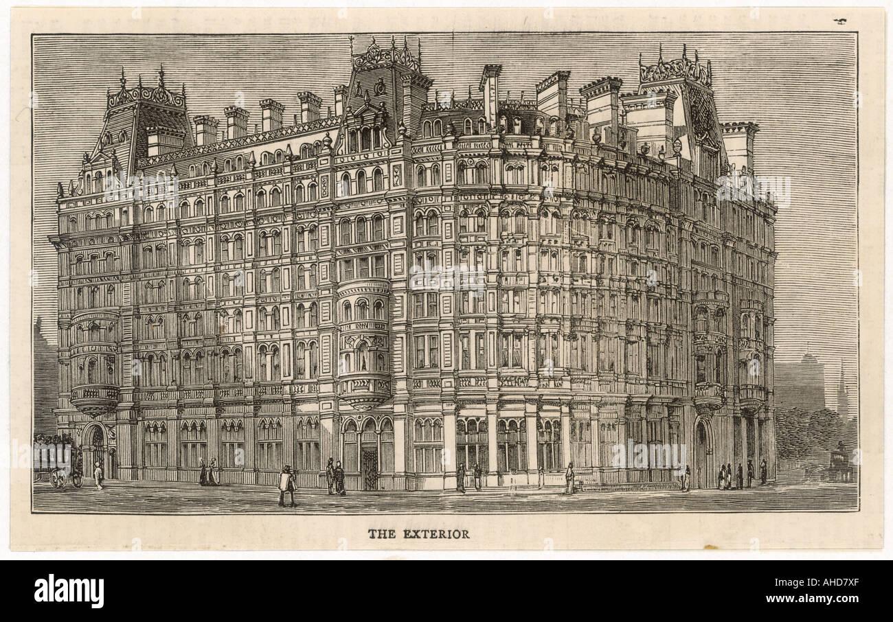 The Grand Hotel London Stock Photo Alamy