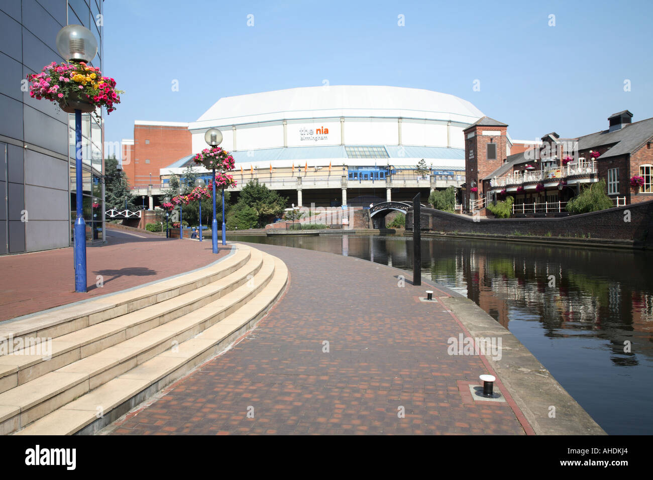 The National Indoor Arena or nia by the Sea Life Centre Birmingham city centre West Midlands central England UK july 2006 - Stock Image