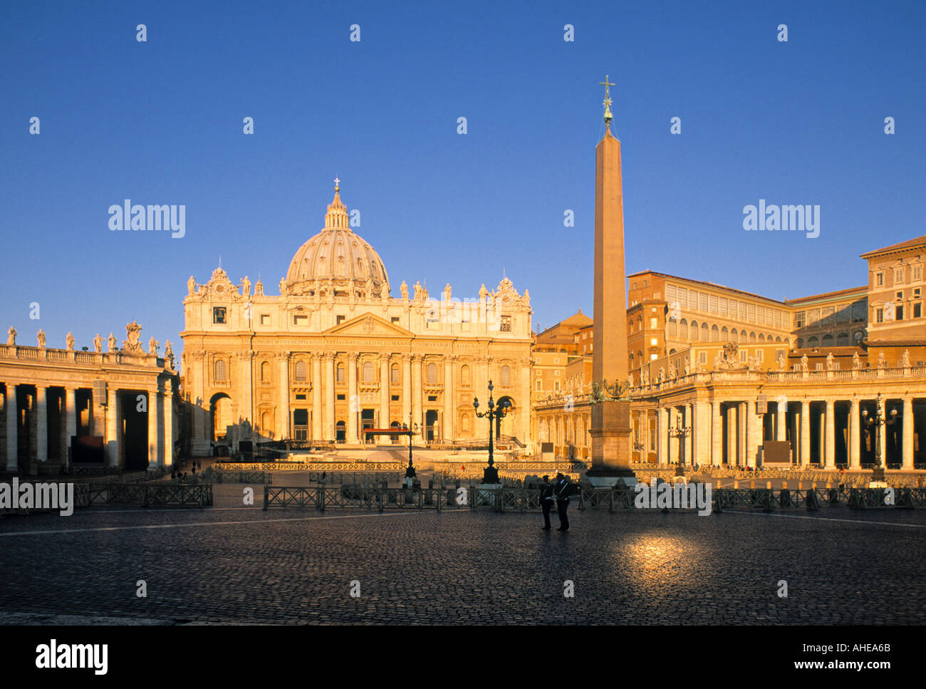 St. Peter's, Vatican City, Rome, Italy - Stock Image