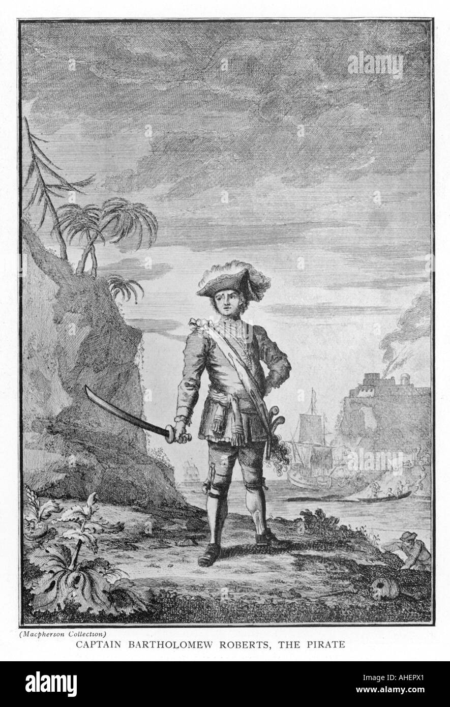 Captain Roberts - Stock Image