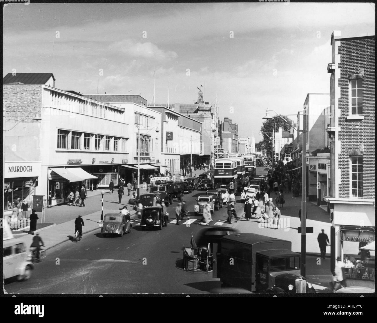 Post War Southampton - Stock Image