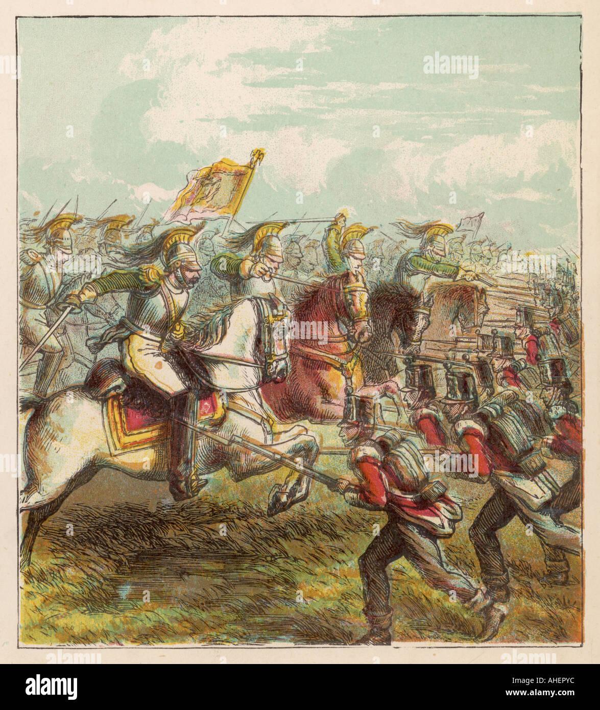 Battle Of Waterloo - Stock Image