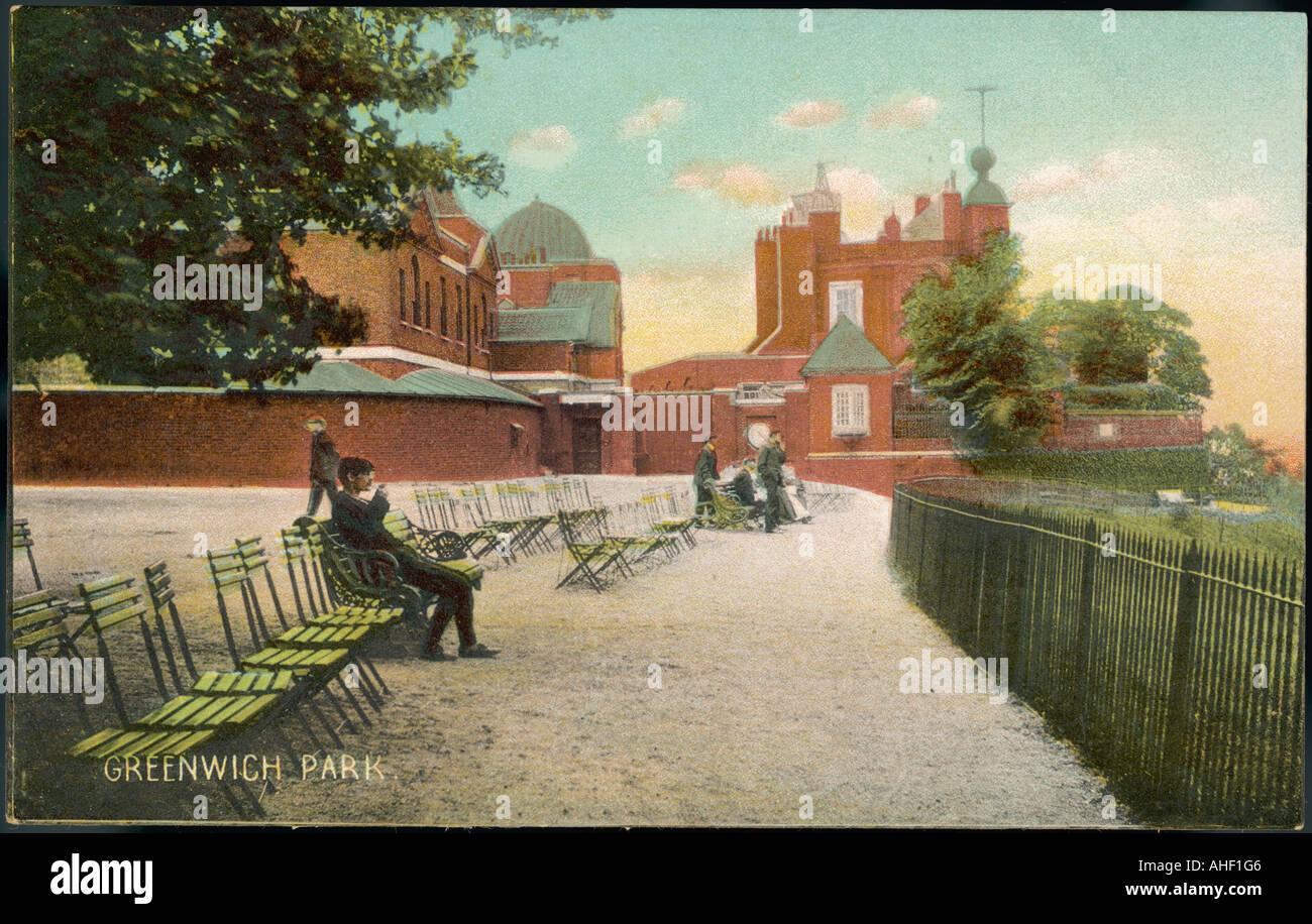 Greenwich Pk Observatory - Stock Image