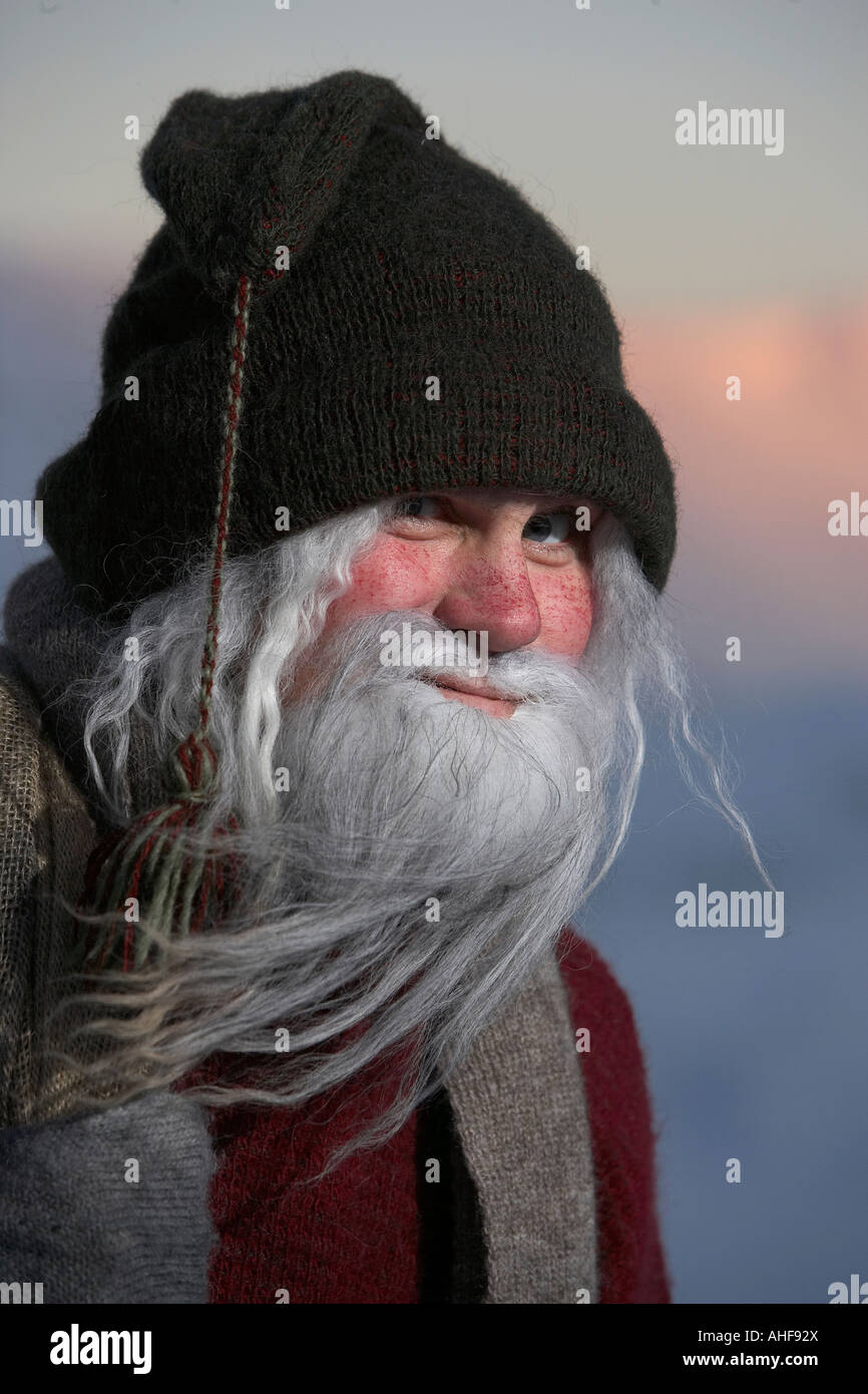 Yule lads Santa Claus - Stock Image