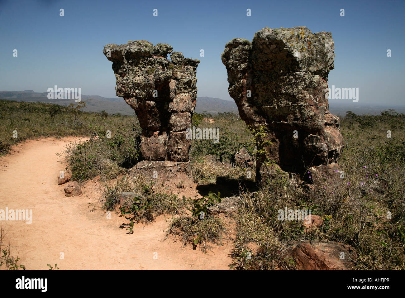 Stone city Chapada Brazil - Stock Image