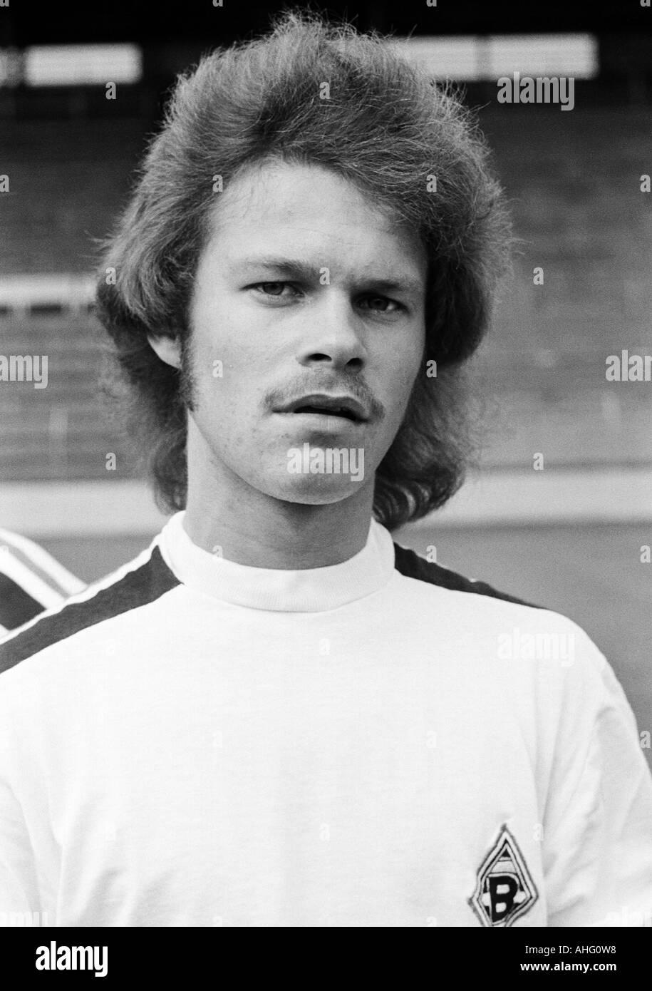 football, Bundesliga, Borussia Moenchengladbach, presentation of the team for the new saison 1975/1976, press photo Stock Photo