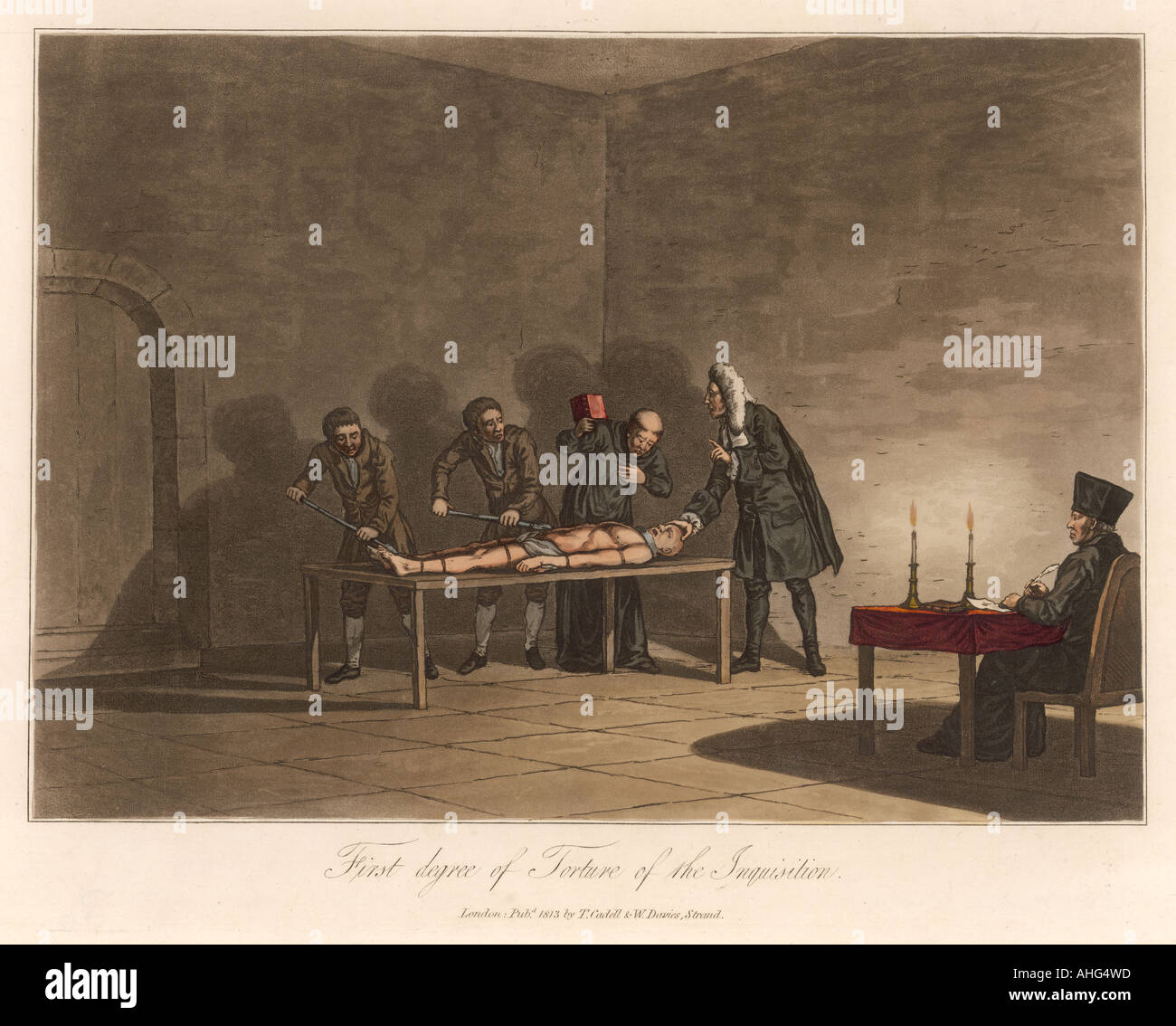 Inquisition Torture 1 - Stock Image
