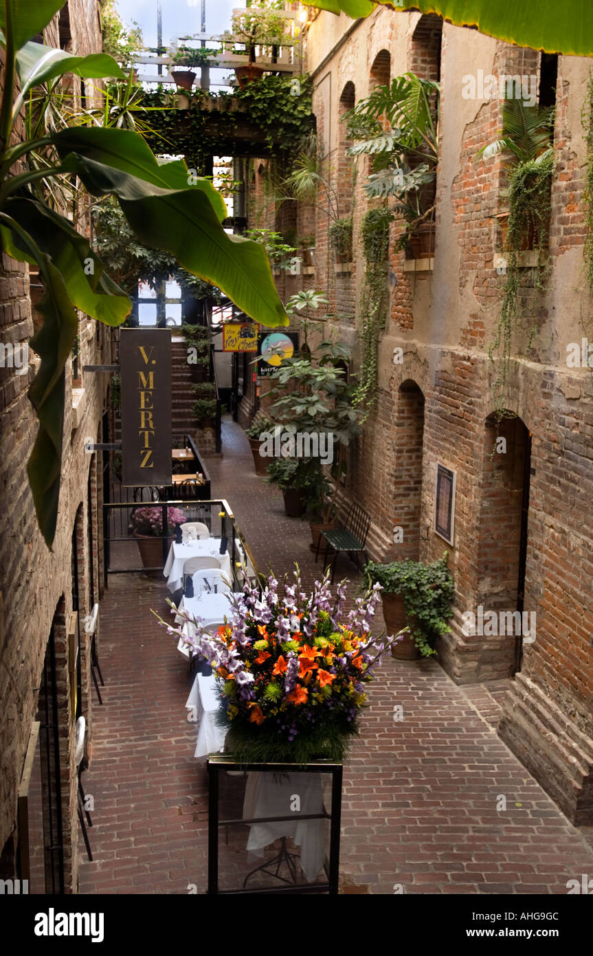 Trendy Shops And Restaurants In The Old Market Passageway A