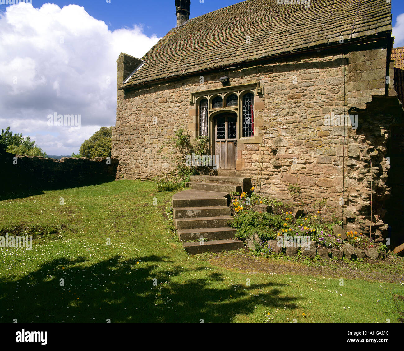 GB - GLOUCESTERSHIRE: St. Briavels Castle in the Forest of Dean Stock Photo