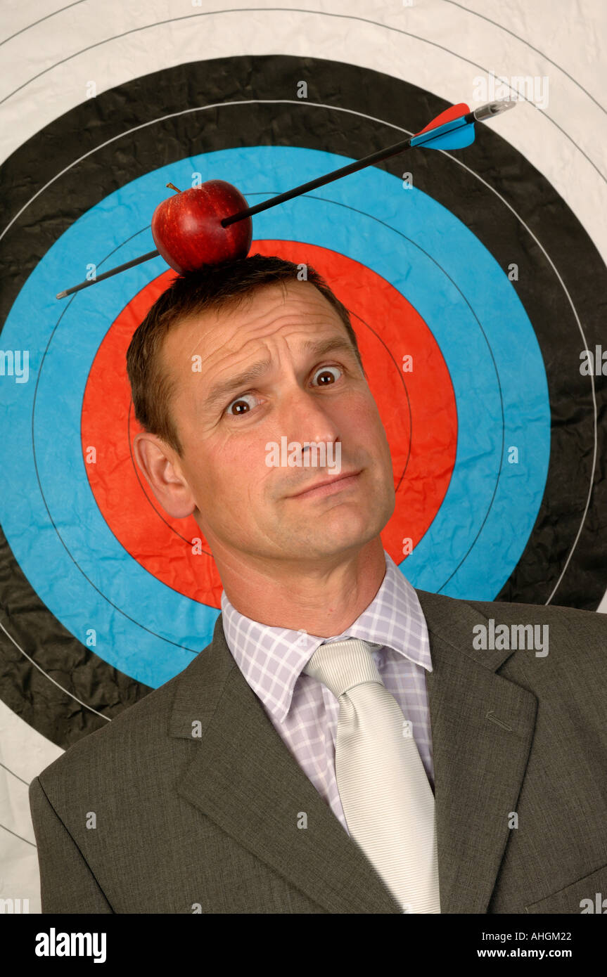 Businessman In Front Of A Target With An Apple And Arrow On His Head Stock Photo Alamy I wrote a program to calculate the centroid of a laser beam projected on the ccd array. https www alamy com businessman in front of a target with an apple and arrow on his head image4723745 html
