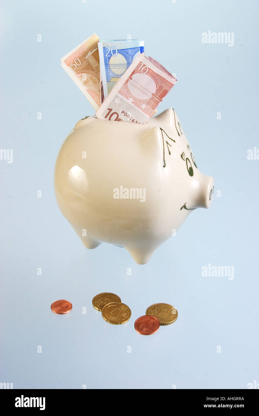 Saved money - Stock Image