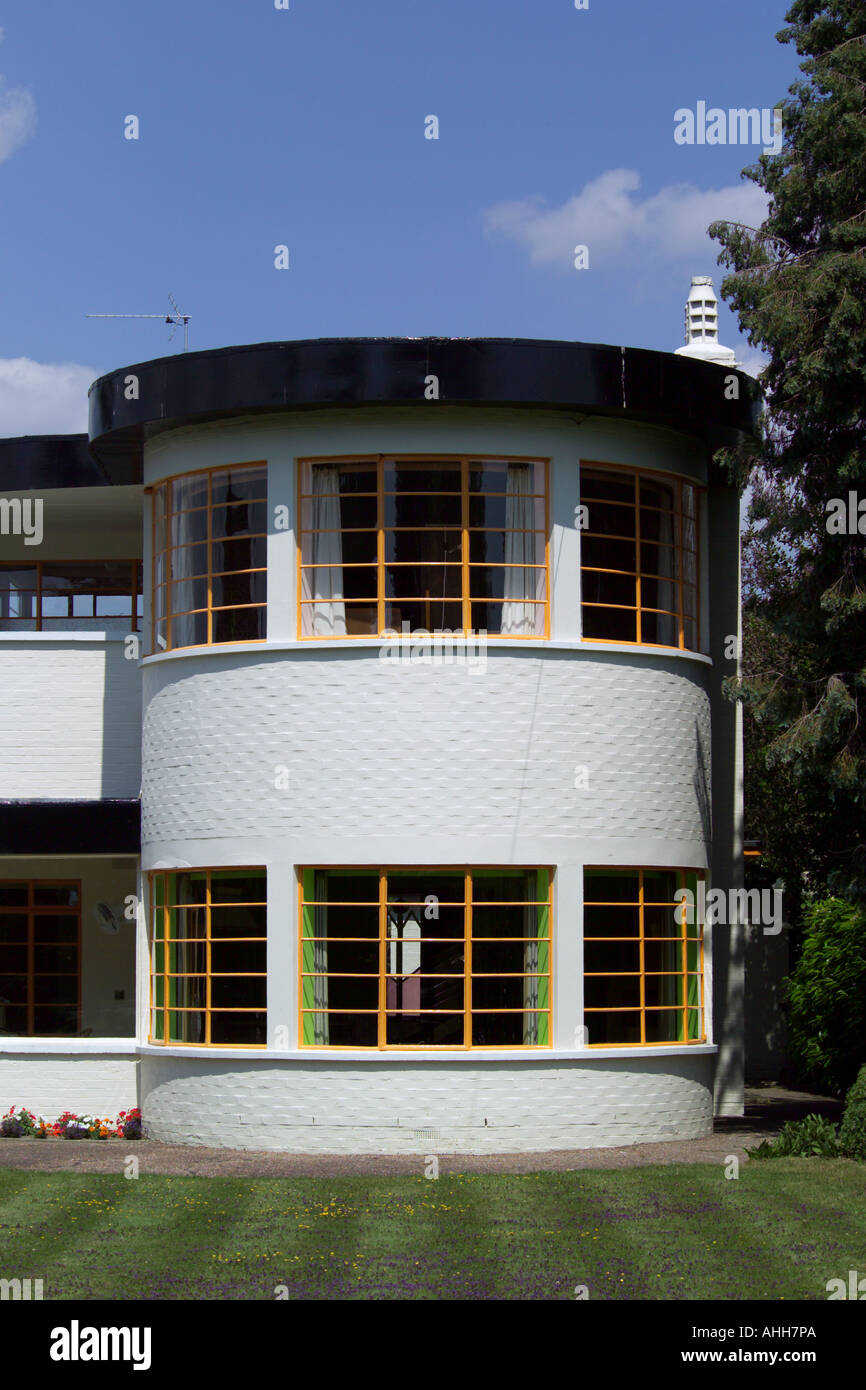 The sun house in cambridge uk a grade 2 listed home in art deco style