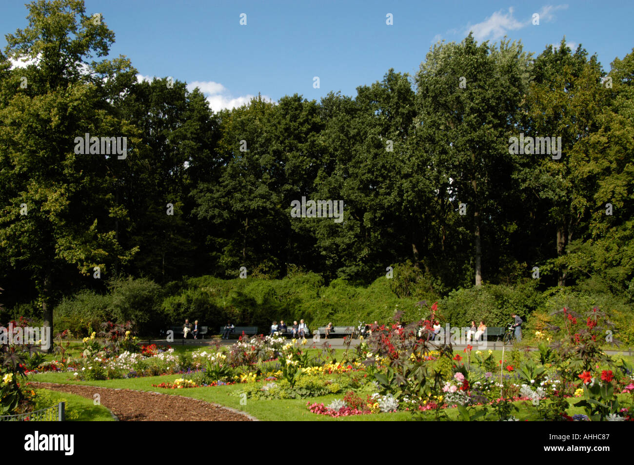 The Tiergarten Berlin Germany - Stock Image