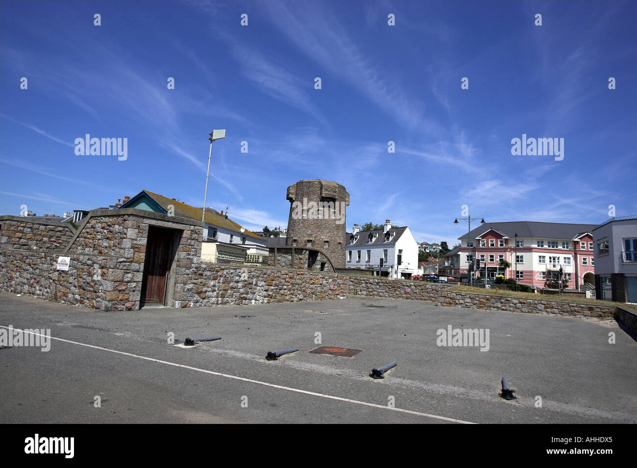 First Tower St Helier Channel High Resolution Stock Photography ...
