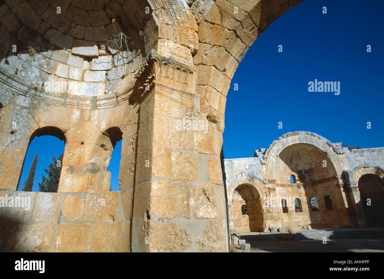 SYRIA North Qalaat Samaan - Stock Image