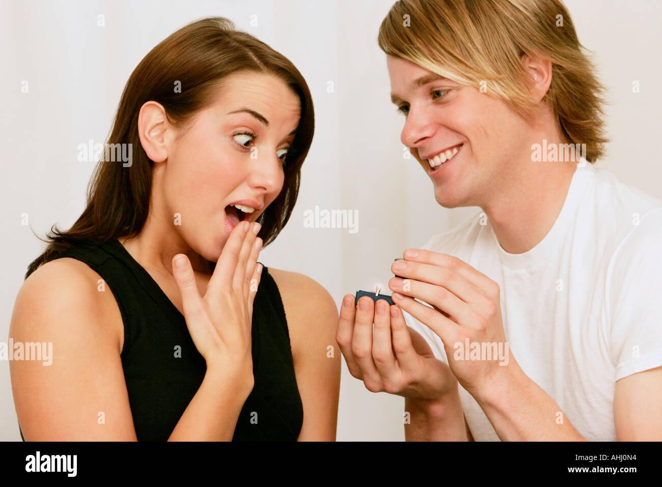 Surprise Wedding Proposals Stock Photos & Surprise Wedding