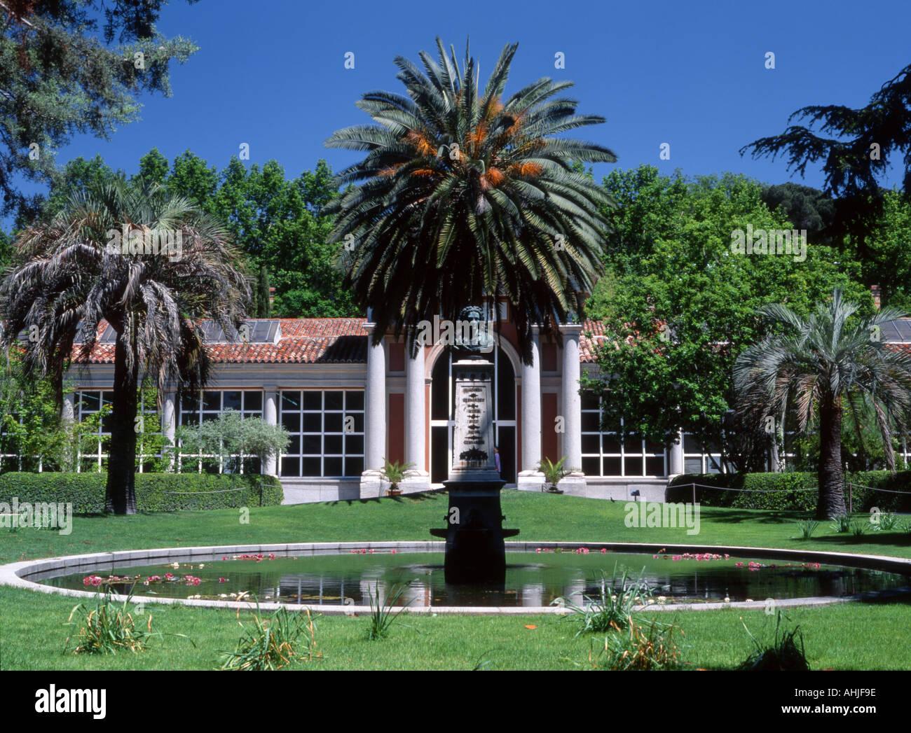 Madrid, Spain. Botanical Gardens (Jardin Botanico Stock Photo ...