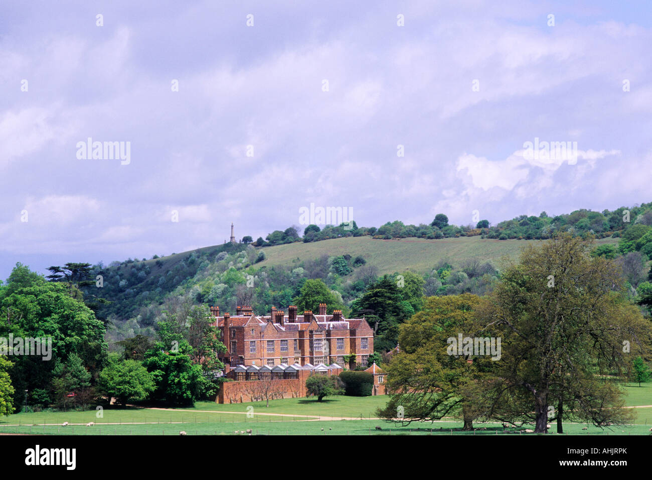 Chequers and Coombe Hill Chilterns Buckinghamshire - Stock Image