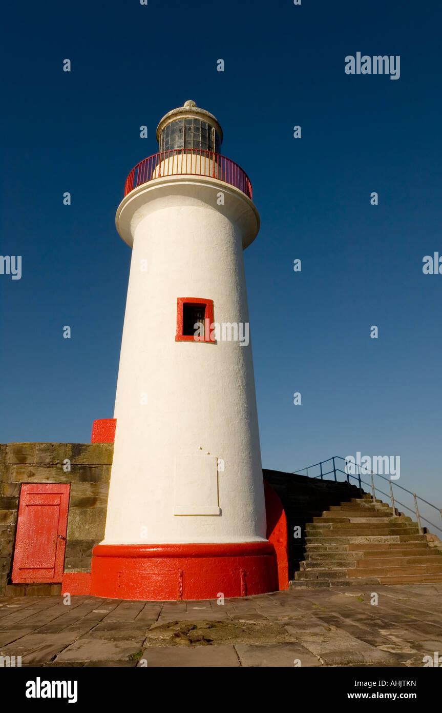 2b244daa0c38ed West Pier Lighthouse Whitehaven Cumbria Stock Photos   West Pier ...