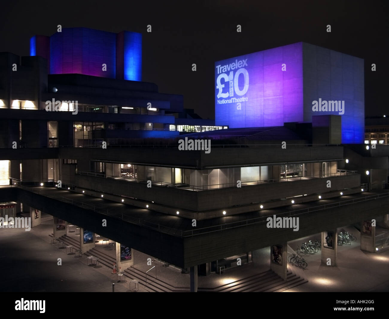 National Theatre, London, UK - Stock Image