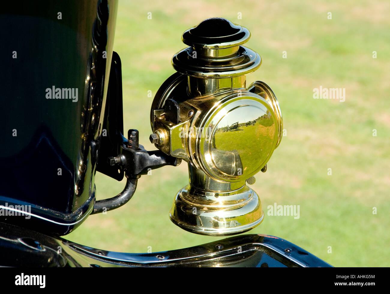 1911 Cadillac Tail Lamp - Stock Image