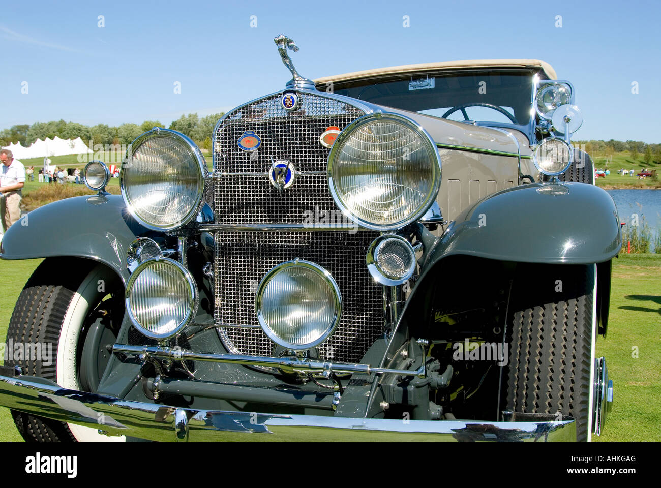 1931 Cadillac 370-A - Stock Image