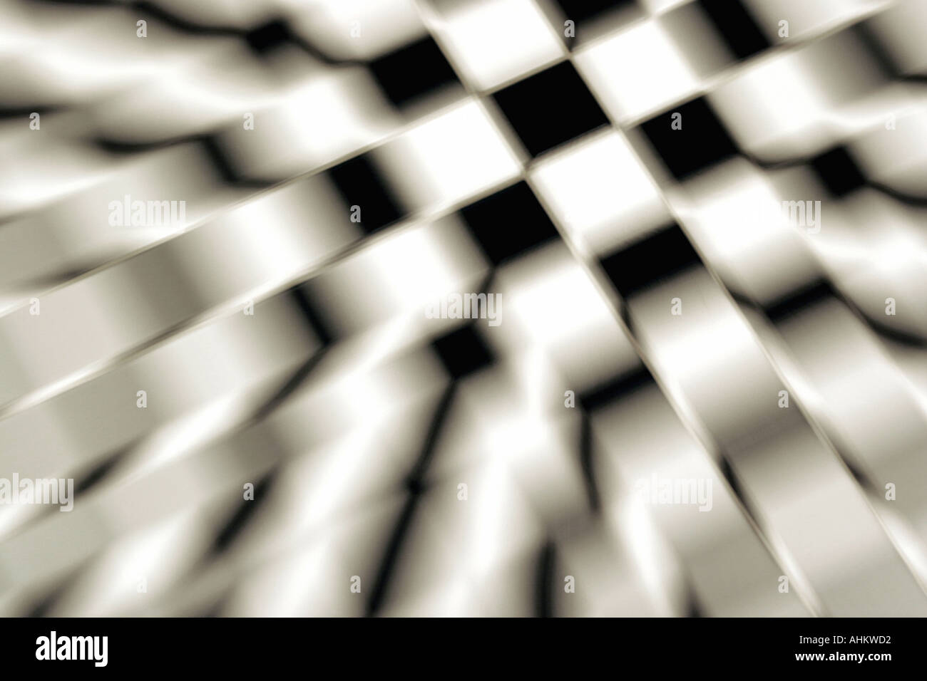 Graphic chequered patterns/ flags Stock Photo