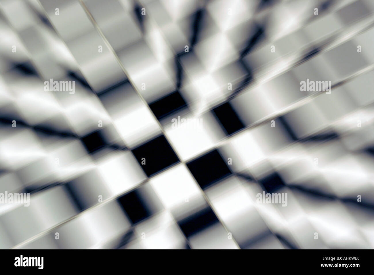 Graphic Chequered Patterns Flags
