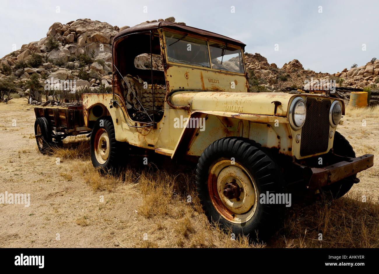 Ranch Jeep >> Willys Jeep At Keys Ranch Joshua Tree National Park Twentynine Palms