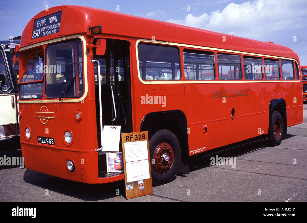 1952 AEC regal taken at the north weald bus and coach show - Stock Image