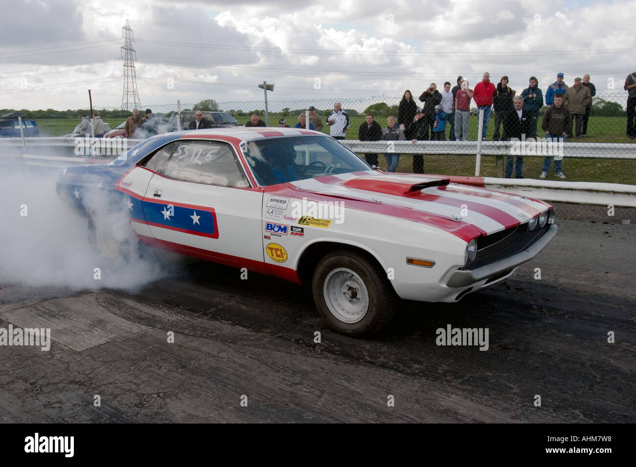 Muscle Car Burnout Stock Photos Muscle Car Burnout Stock Images