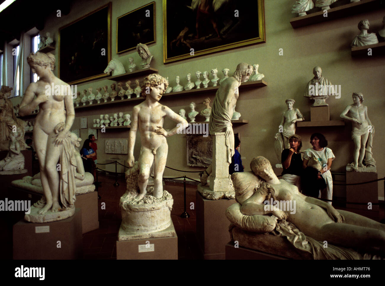 The Accademia dell'Arte del Disegno ('Academy of the Art of Design is an art academy in Florence - Stock Image