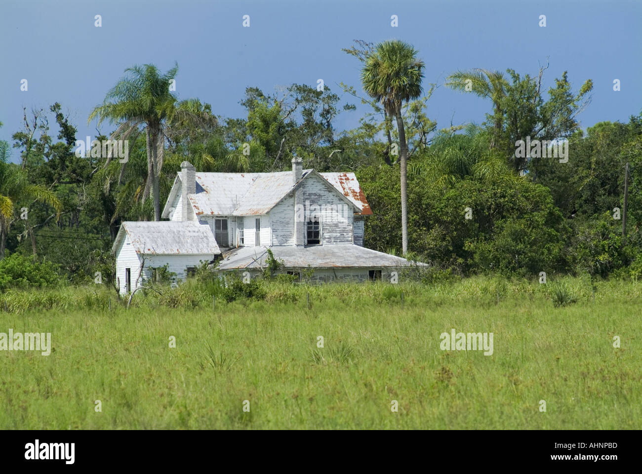 abandoned Florida Farm house old home Stock Photo: 4739772
