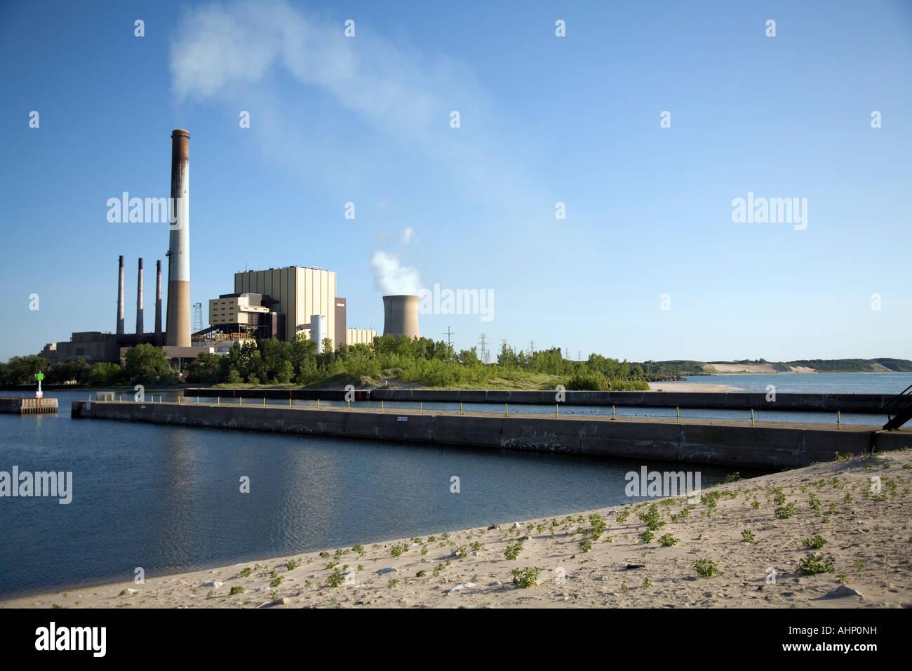Northern Indiana Public Service Company NIPSCO power plant located