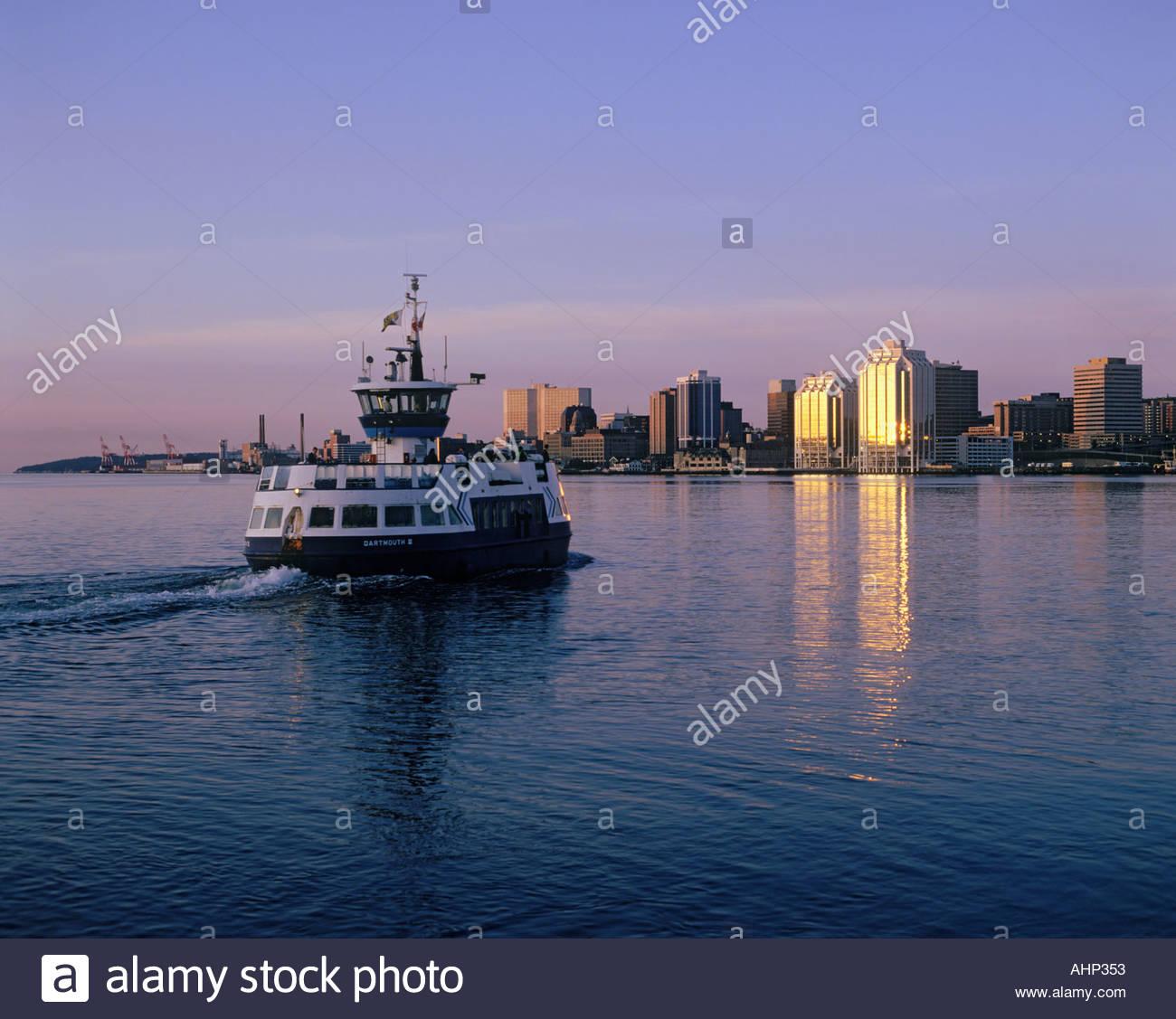 Halifax Dartmouth Ferry Nova Scotia Stock Photos & Halifax