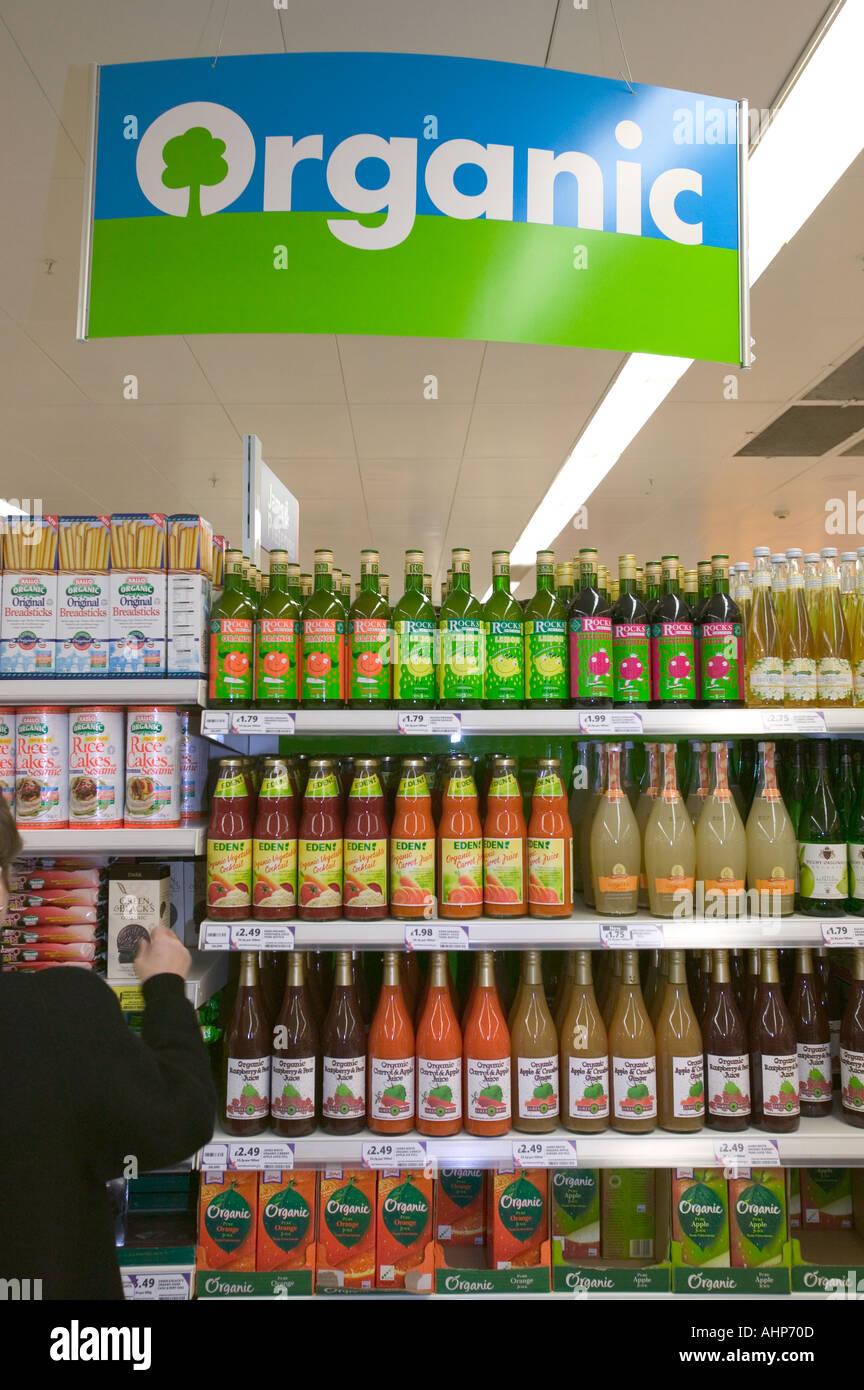 Food Shopping In Tesco Stock Photos & Food Shopping In Tesco