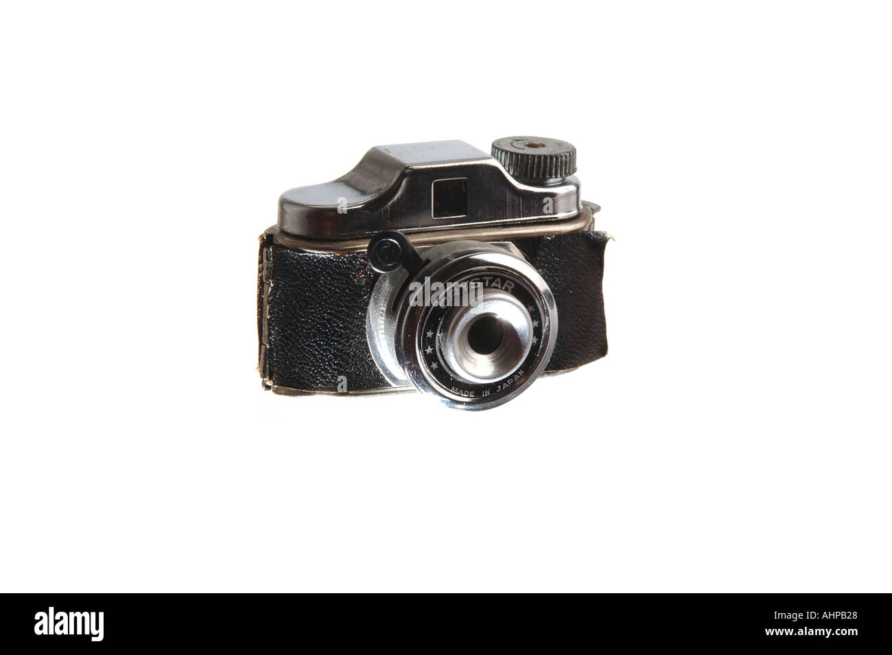 Small toy camera miniature antique chineese - Stock Image