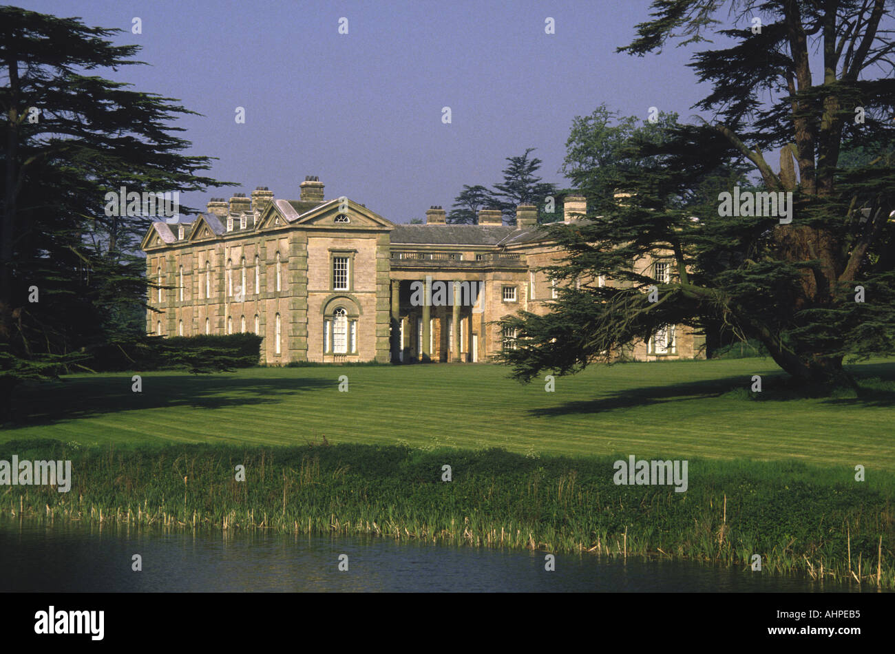 Compton Verney House, Warwickshire, England, UK. - Stock Image
