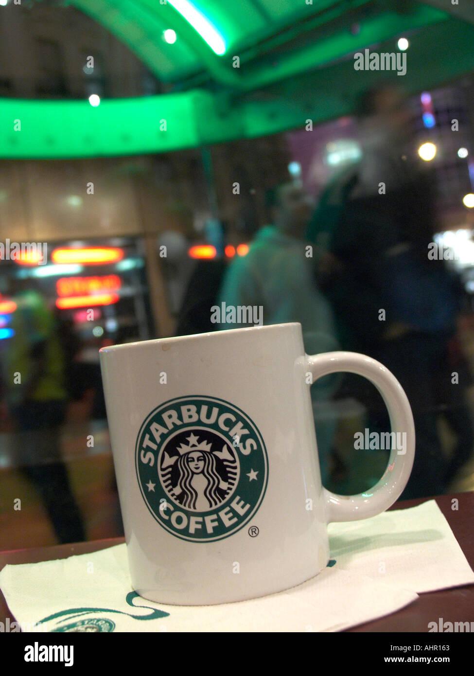 Mug In Napkin Trocadro Store Coffee On Starbucks Stock The 35AjqR4L
